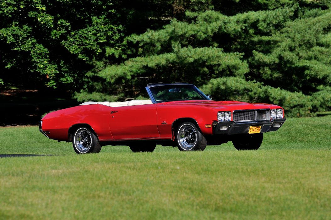 1970 Buick GS Conveertible Stage1 Muscle Classic USA d 4200x2790-05 wallpaper