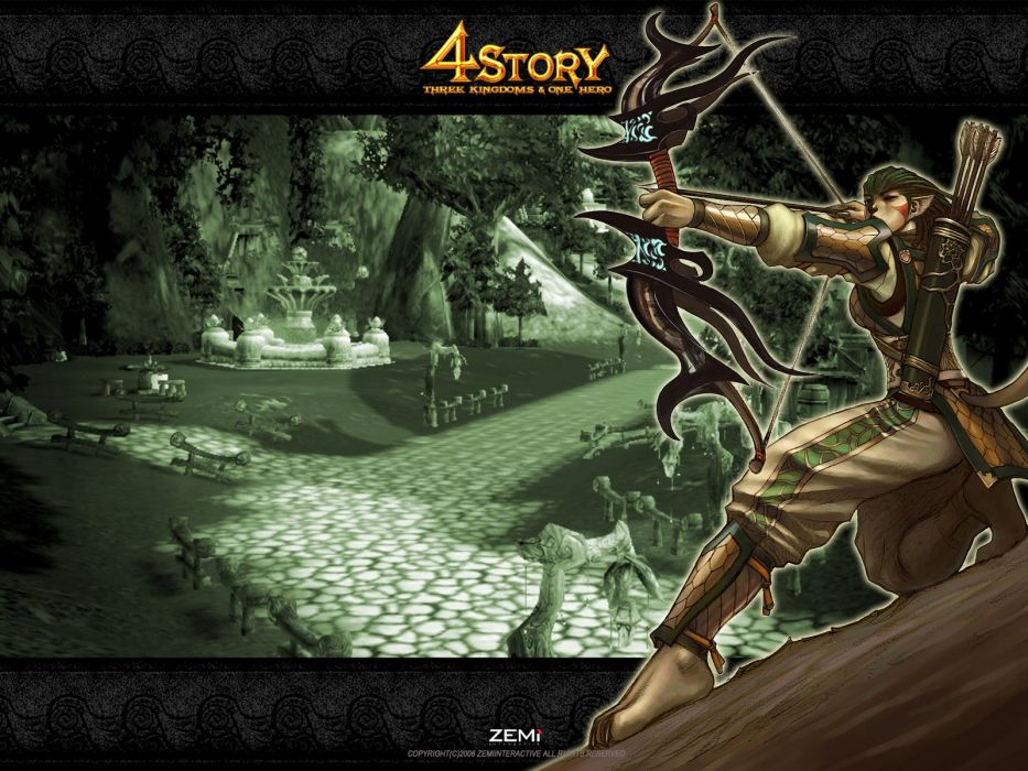 4STORY Gates of Andaron fantasy mmo rpg action adventure fighting online wallpaper