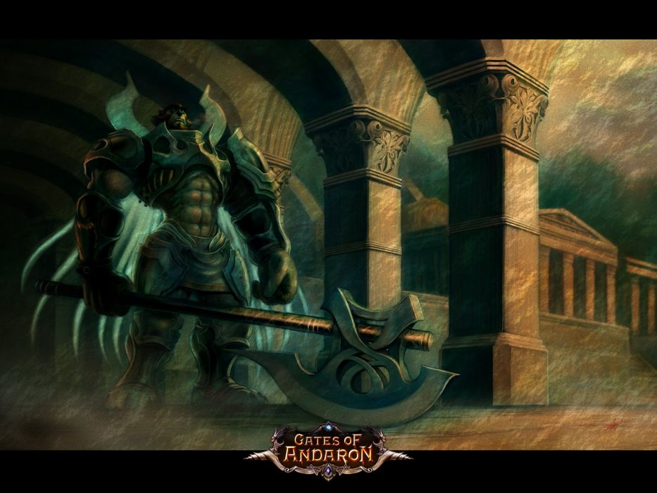 4STORY Gates of Andaron fantasy mmo rpg action adventure fighting online poster wallpaper