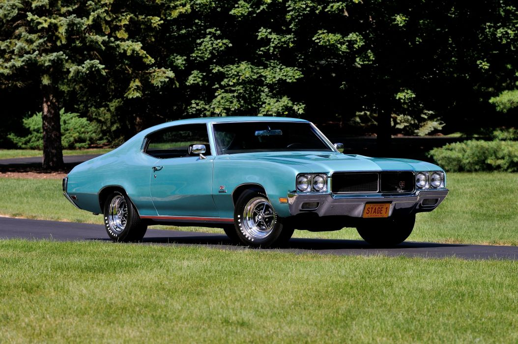 1970 Buick GS Stage1 Muscle Classic USA d 4200x2790-07 wallpaper