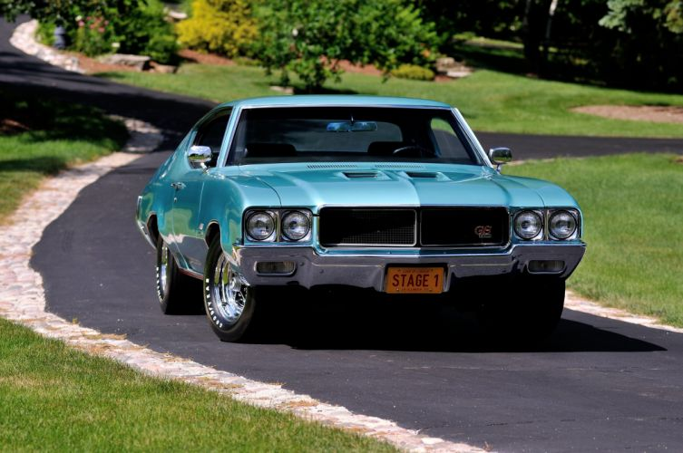 1970 Buick GS Stage1 Muscle Classic USA d 4200x2790-11 wallpaper