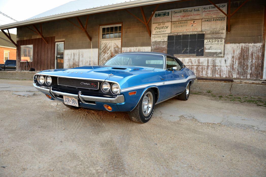 1970 Dodge Challenger RT Muslce Classic USA d 4500x3000-06 wallpaper