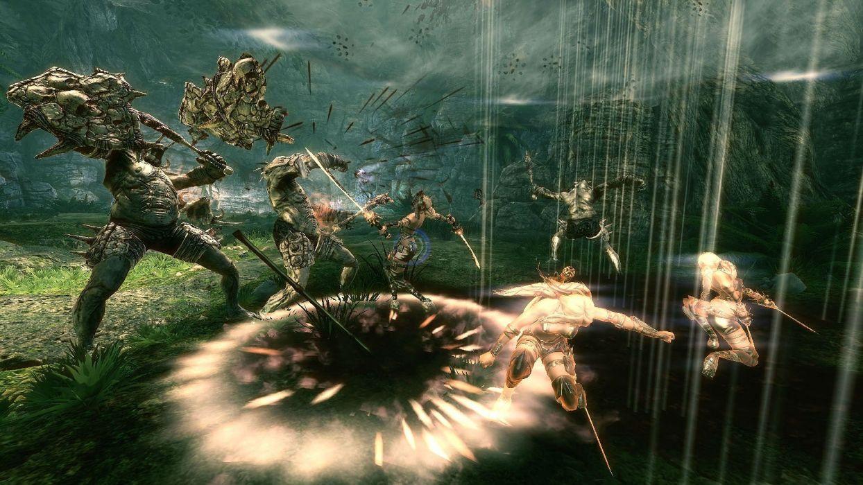 BLADES Of TIME fantasy action fighting girl warrior 1bot ayumi wallpaper