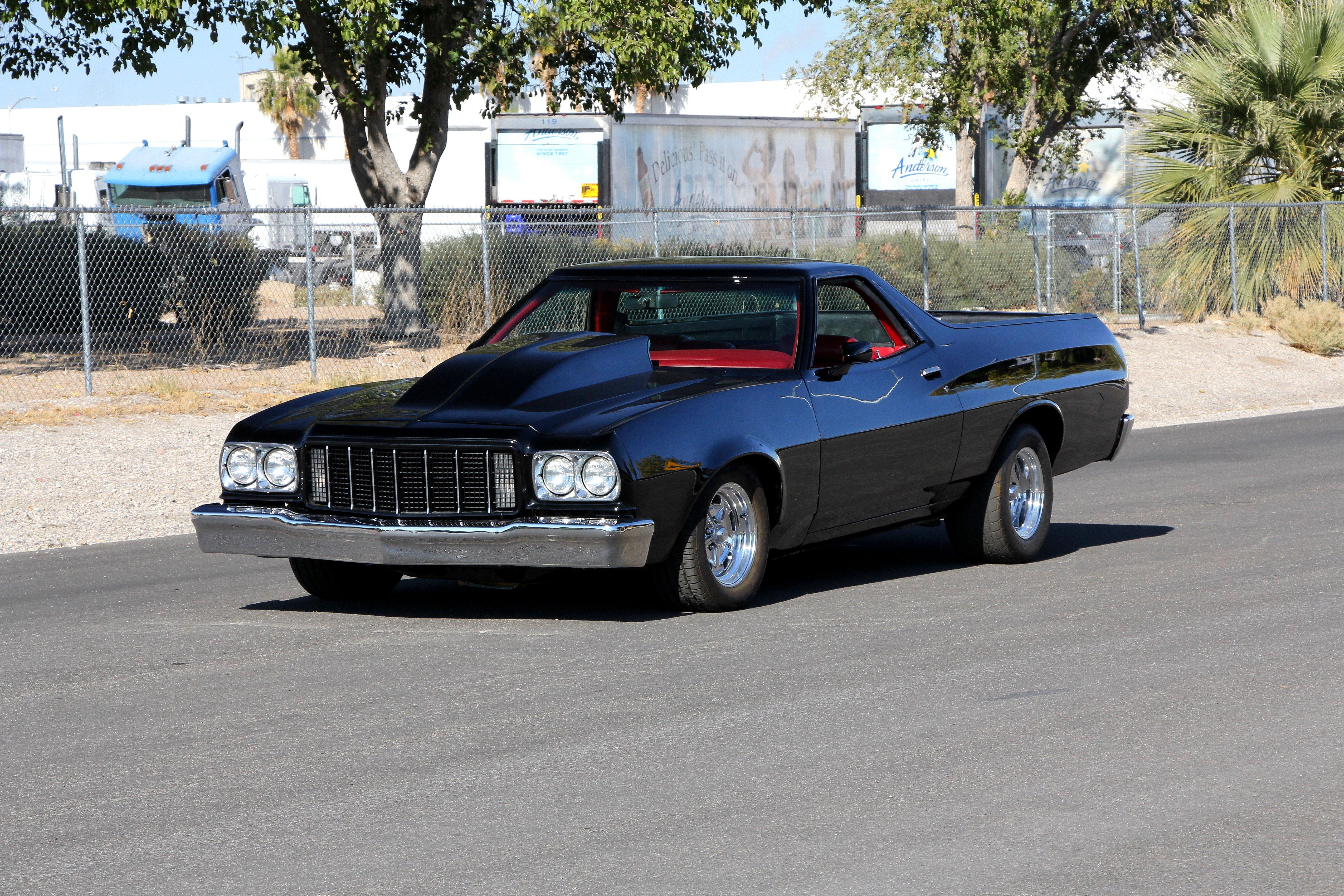 1974 Ford Ranchero Pickup Muscle Streetrod Street Rod Hot