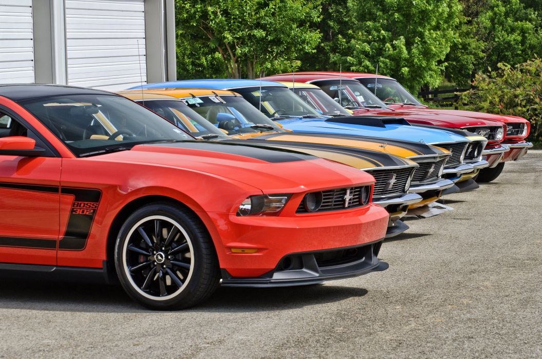 2012 Ford Mustang Boss 302 Street Edition Muscle Supercar USA d 4900x3245-07 wallpaper