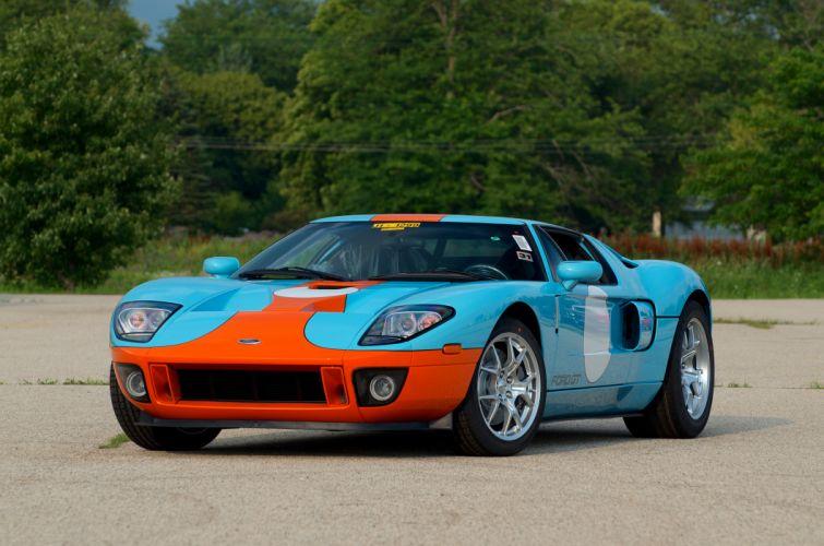 2006 Ford GT Muscle Super Car Supercar USA d 4800x3179-02 wallpaper