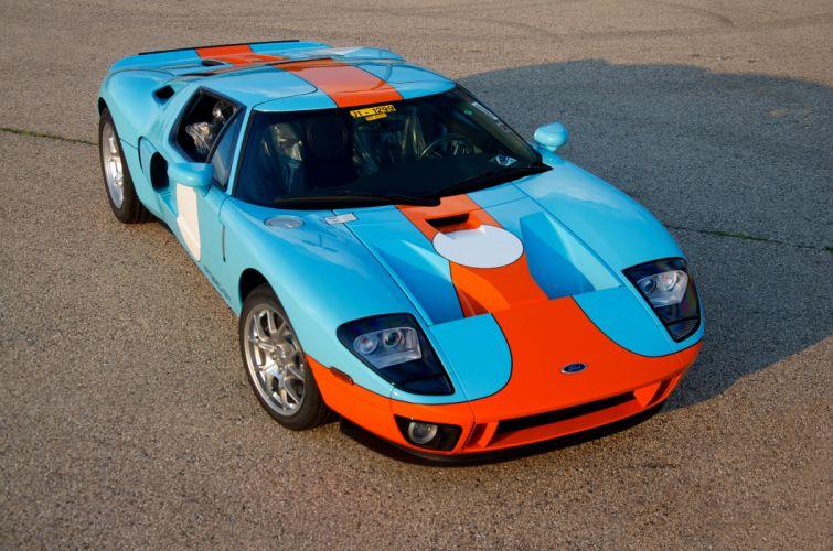 2006 Ford GT Muscle Super Car Supercar USA d 4800x3179-07 wallpaper