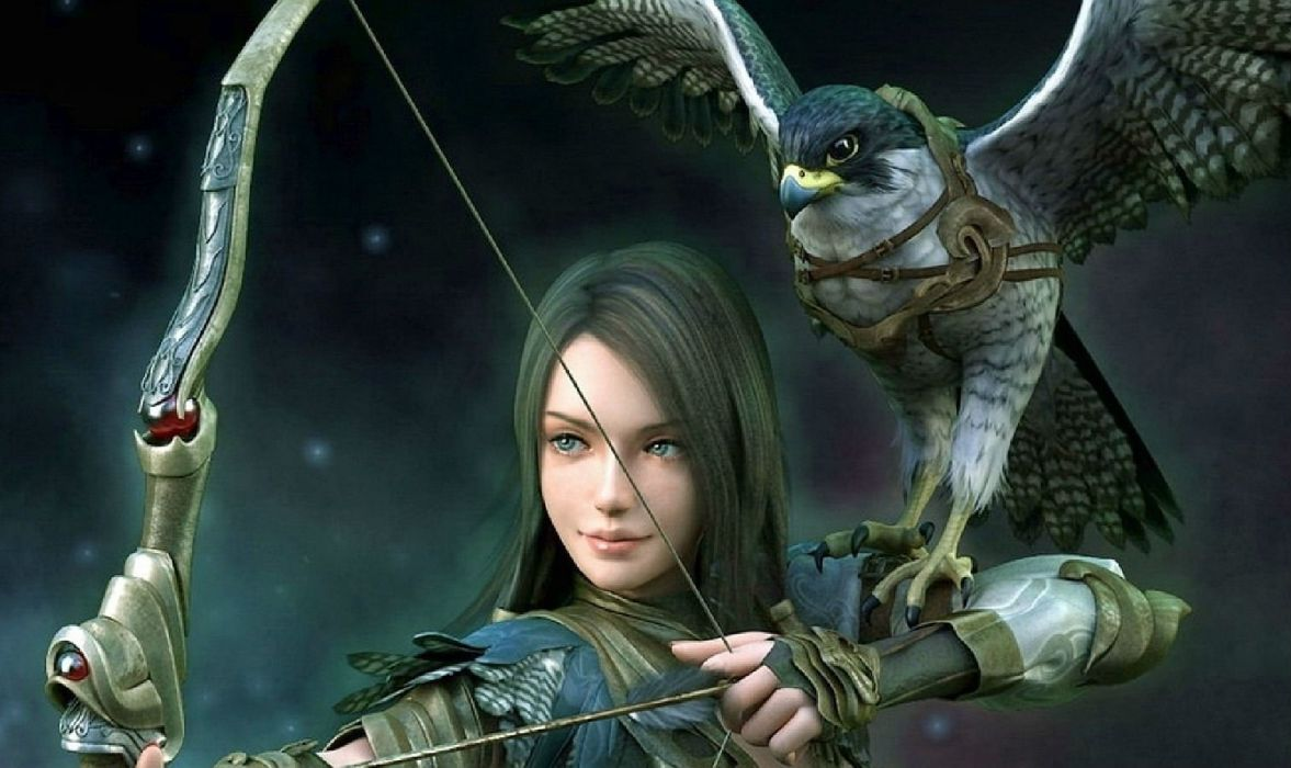 LAST CHAOS fantasy mmo rpg action fighting 1lchaos action warrior dungeon adventure online babe girl girls wallpaper