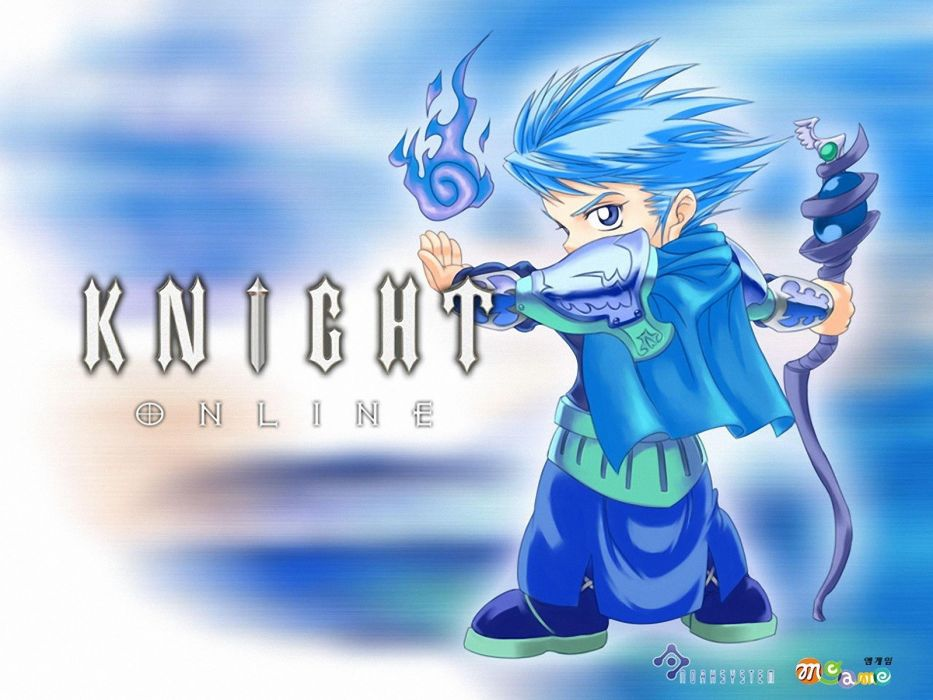 KNIGHT ONLINE fantasy mmo rpg action fighting adventure 1knight warrior armor poster anime wallpaper