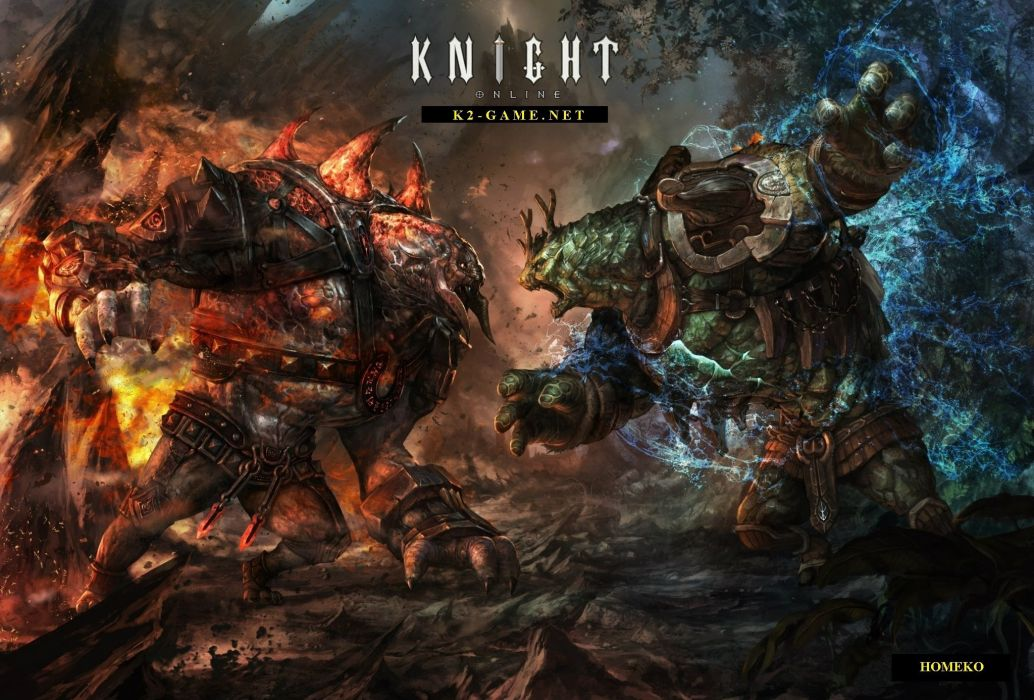 KNIGHT ONLINE fantasy mmo rpg action fighting adventure 1knight warrior armor poster battle wallpaper