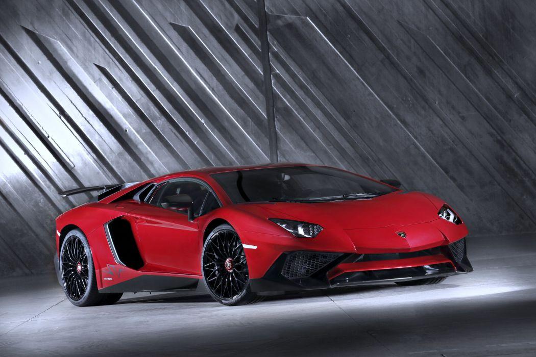 2015 Lamborghini Aventador LP 750-4 Superveloce LB834 red speed motors supercars cars wallpaper