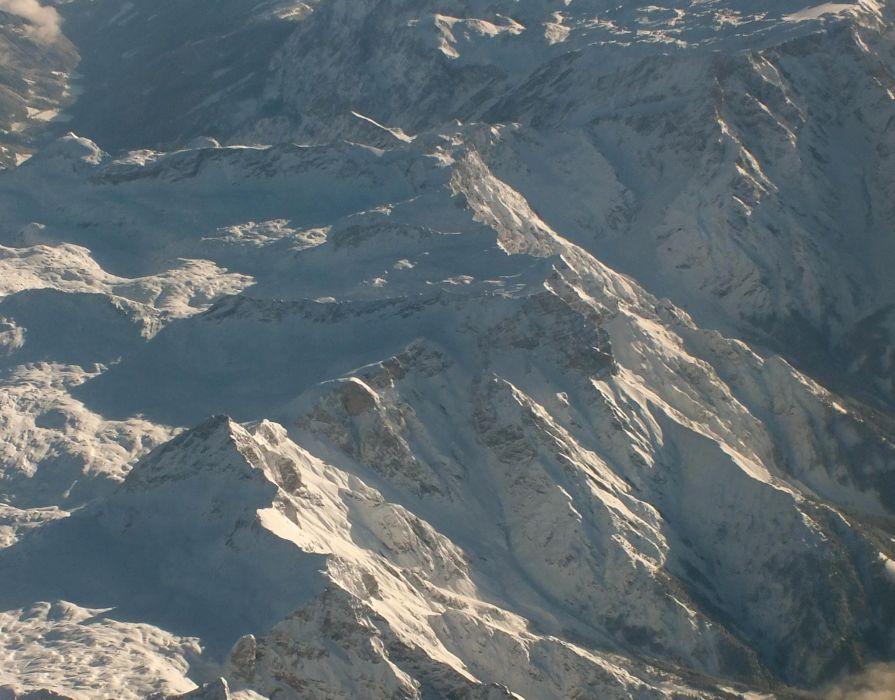 mountains snow peaks wallpaper