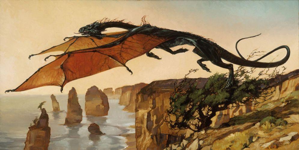 fantasy dragon fly art original wallpaper
