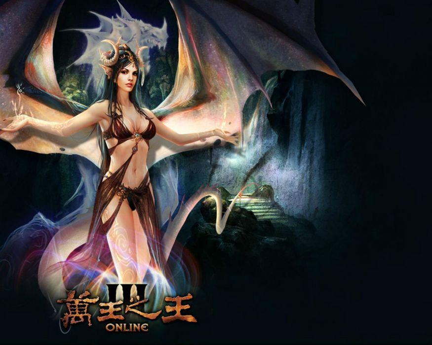 KING Of KINGS 3 fantasy mmo rpg action fighting online 1koks medieval warrior poste angel wallpaper