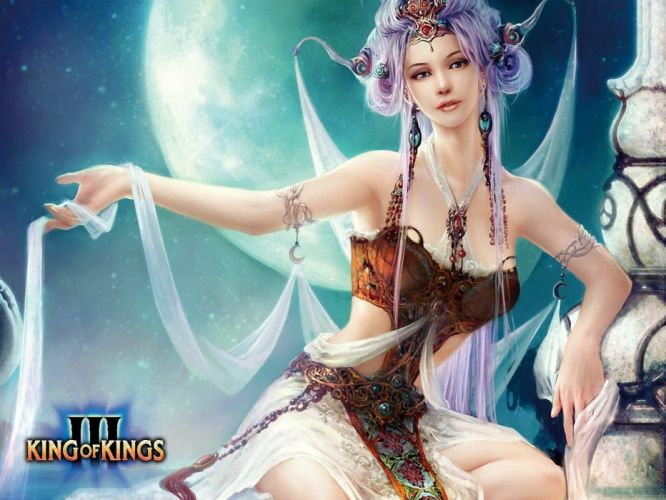 KING Of KINGS 3 fantasy mmo rpg action fighting online 1koks medieval warrior poster wallpaper