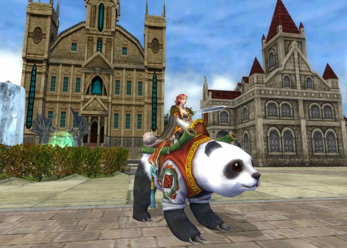 KING Of KINGS 3 fantasy mmo rpg action fighting online 1koks medieval warrior poster panda wallpaper