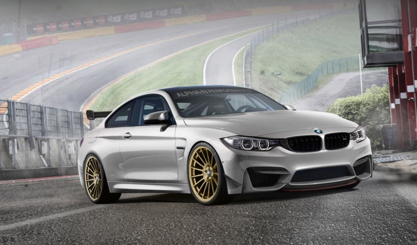 Alpha-N Performance BMW M 4 coupe cars tuning 2015 wallpaper