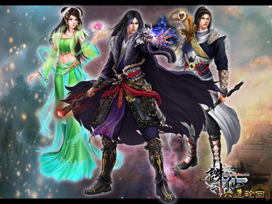 JADE DYNASTY fantasy mmo rpg action fighting martial kung 1jaded perfect online zhu xian Supernatural Biography wallpaper