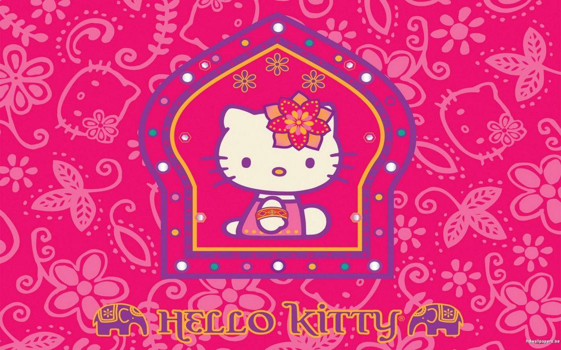 HELLO KITTY WHITE cartoon cat cats kitten girl girls 1hkitty comics game wallpaper