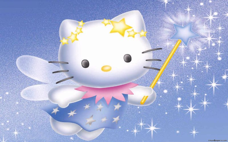HELLO KITTY WHITE cartoon cat cats kitten girl girls 1hkitty comics game wallpaper