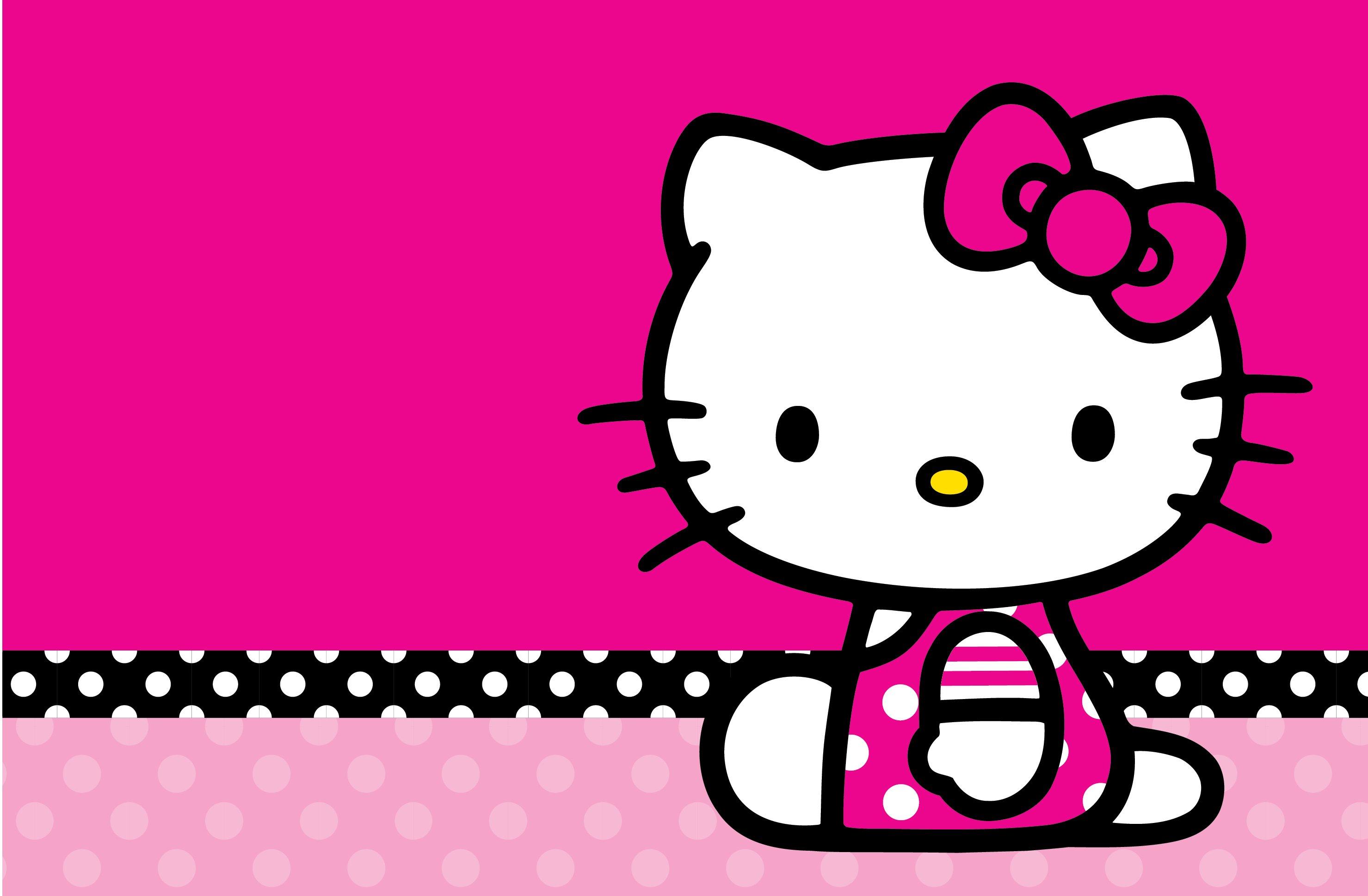 HELLO KITTY WHITE Cartoon Cat Cats Kitten Girl Girls 1hkitty