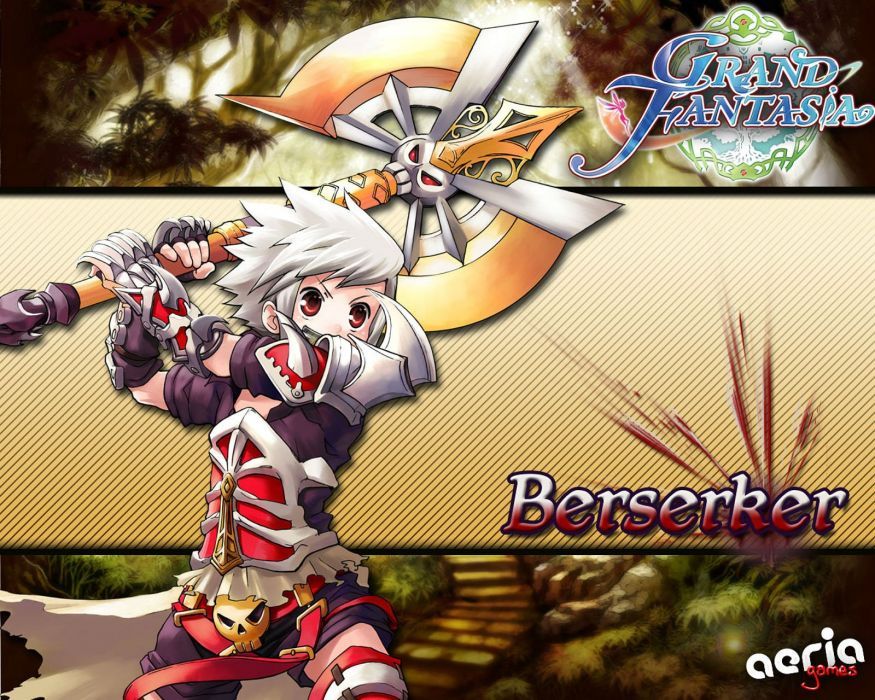 GRAND FANTASIA Dreamy Journey Online anime mmo rpg fantasy 1gfant adventure action fighting exploration sprite wallpaper