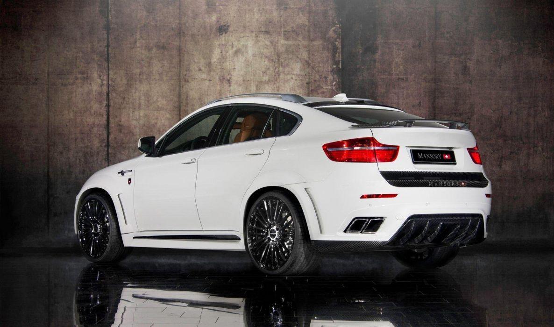 Mansory BMW X6M suv cars tuning wallpaper