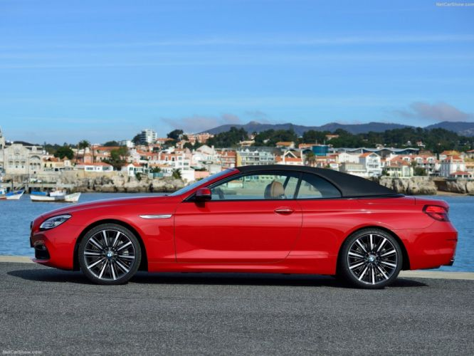 2015 6-Series BMW cabriolet cars convertible facelift wallpaper