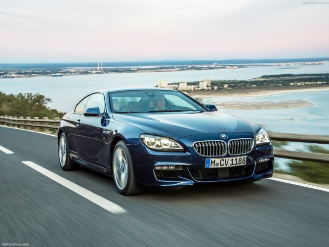 2015 6-Series BMW coupe cars facelift wallpaper