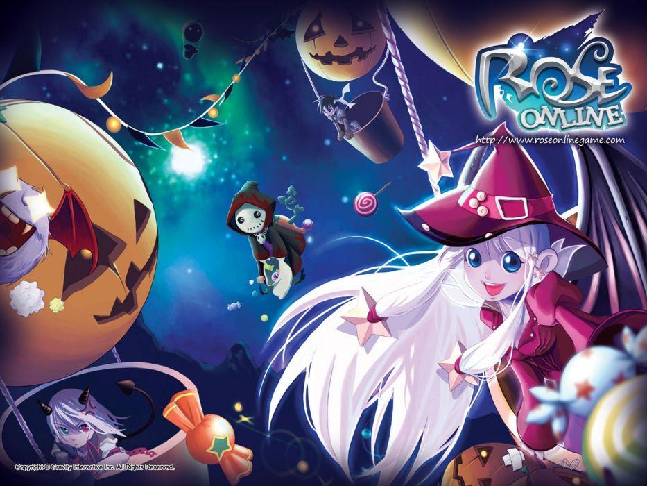 ROSE ONLINE Rush On Seven anime mmo rpg fantasy adventure action fighting magic exploration 1roseo wallpaper