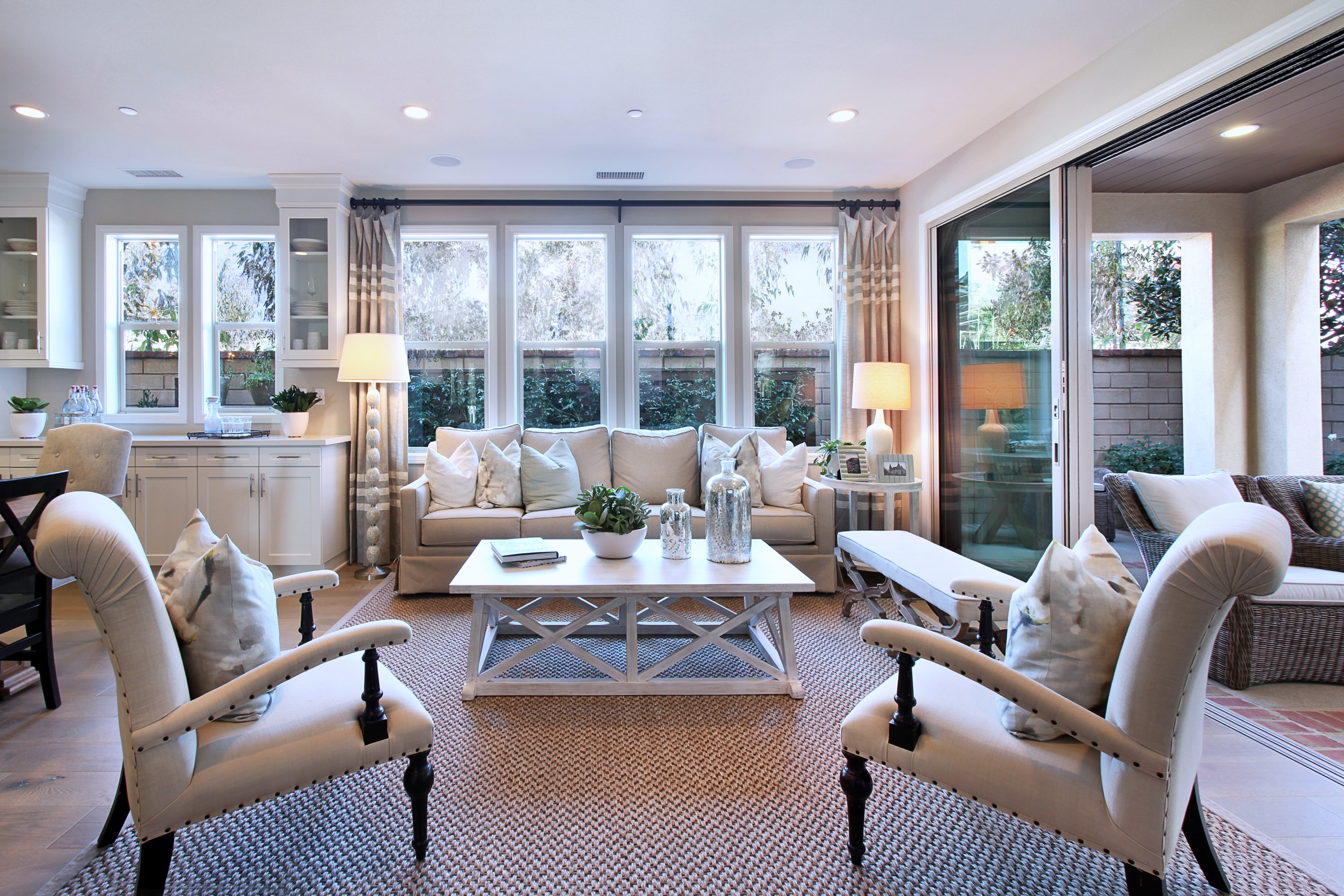 furniture cottage room house rooms chic living themed ideas beach