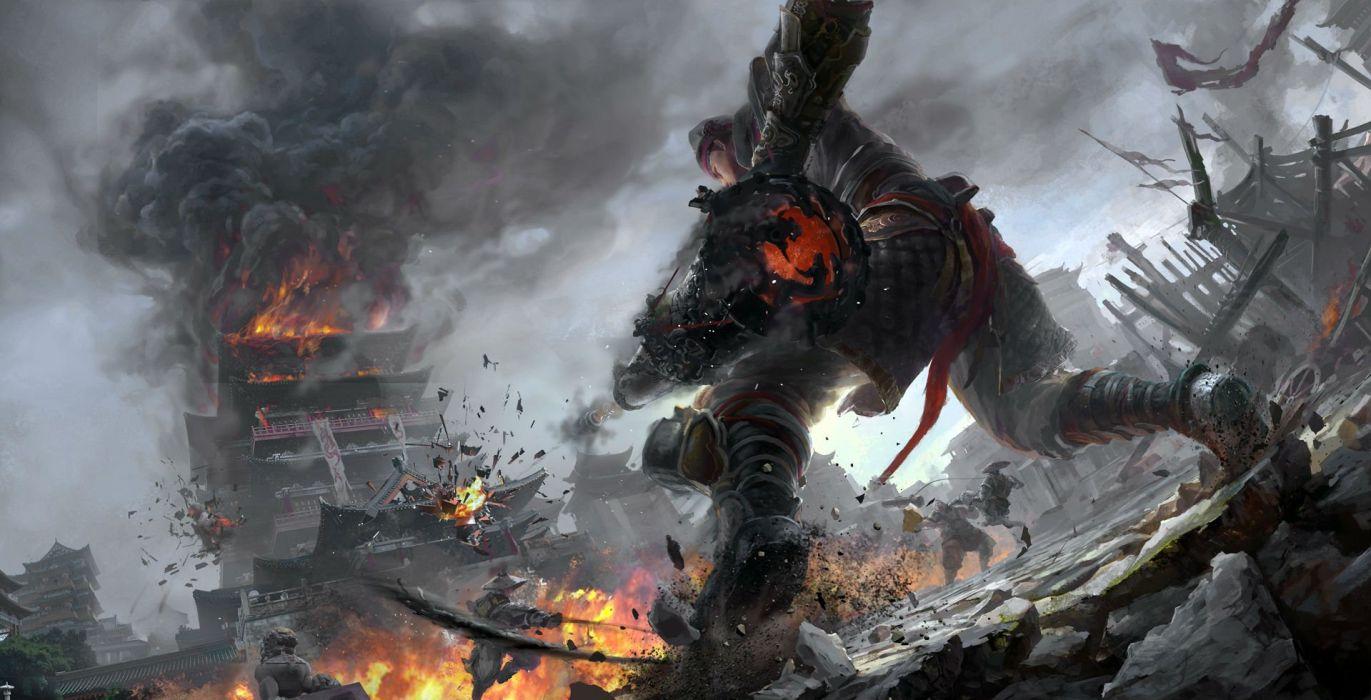 Swordsman Online Fantasy Mmo Rpg Action Fighting Martial