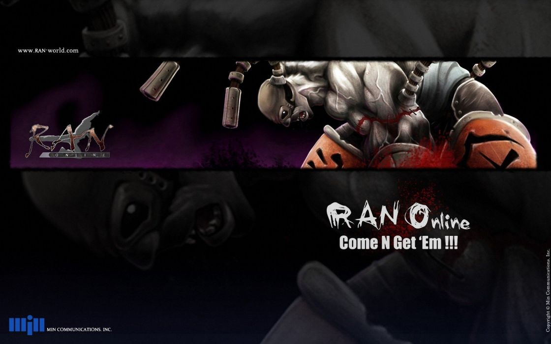 RAN ONLINE anime mmo rpg fantasy sci-fi action adventure fighting exploration 1rano school warrior shooter wallpaper
