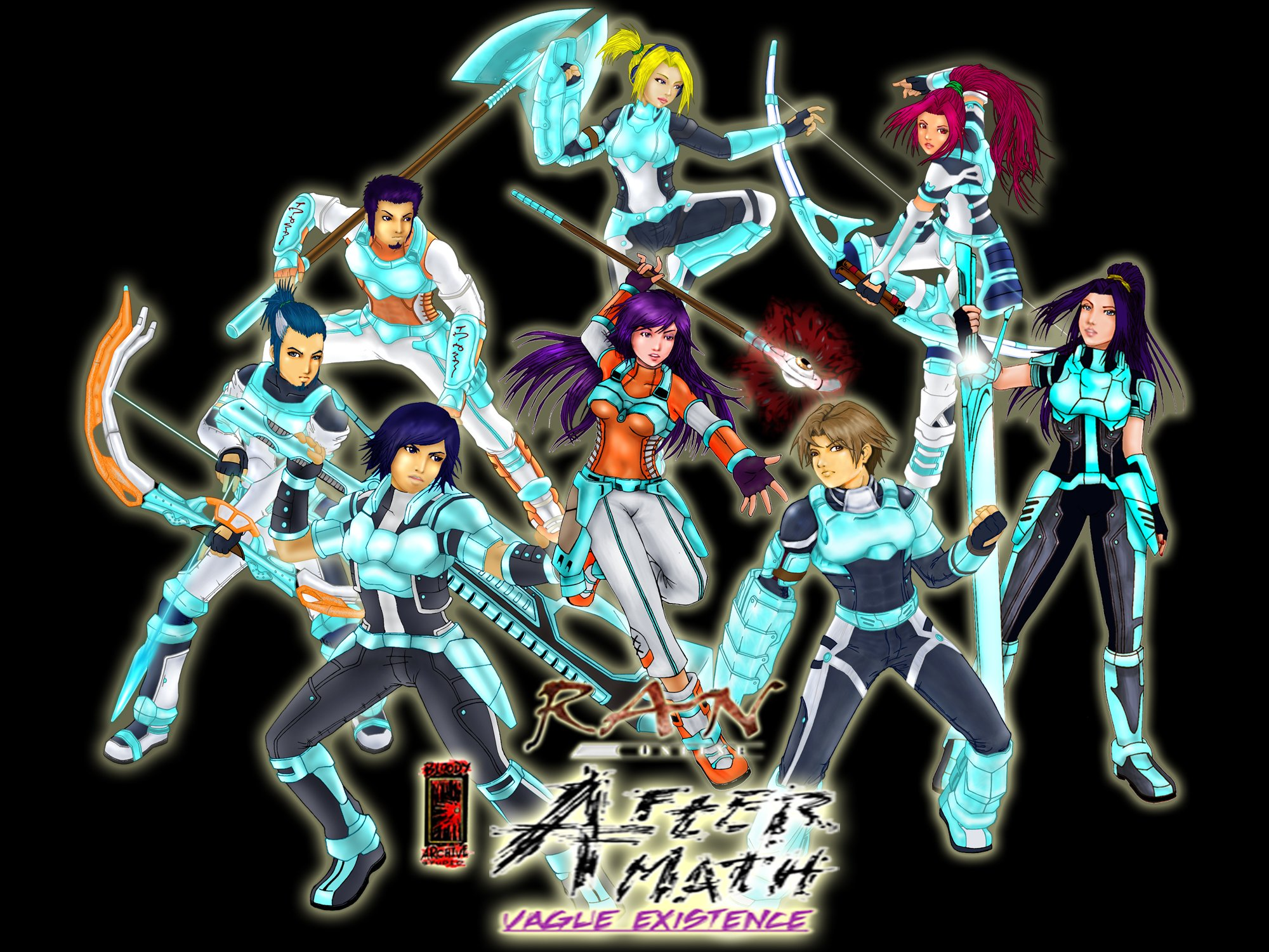 RAN ONLINE anime mmo rpg fantasy sci-fi action adventure ...