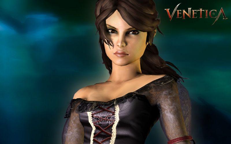 VENETICA fantasy rpg medieval action fighting Scarlett 1venet reaper adventure warrior wallpaper