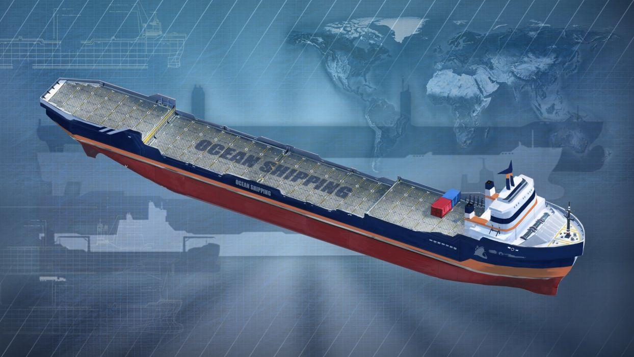 TRANSOCEAN maritime trading transport shi ships boat boats 1transo simulator online strategy detail wallpaper