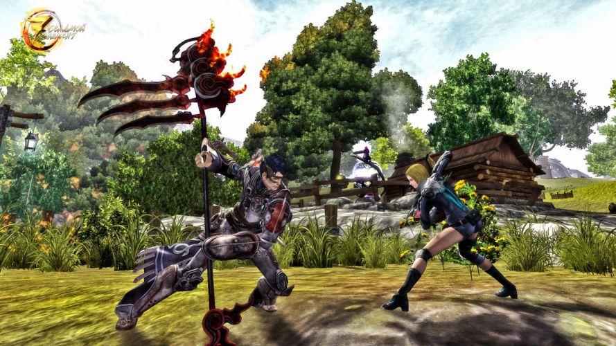 SEVEN SOULS ONLINE mmo rpg action fighting fantasy sci-fi Martial Empires 1ssome asian warrior samurai wallpaper