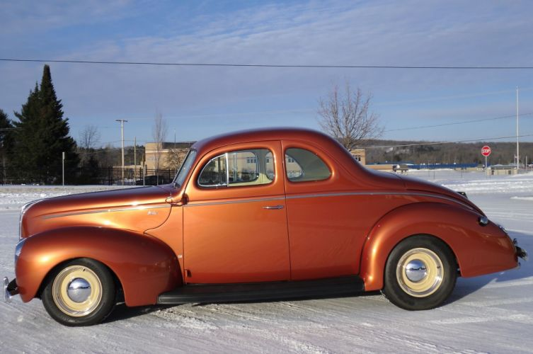 1940 Ford Deluixe Coupe Hotrod Hot Rod Streetrod Street USA 2048x1360-02 wallpaper