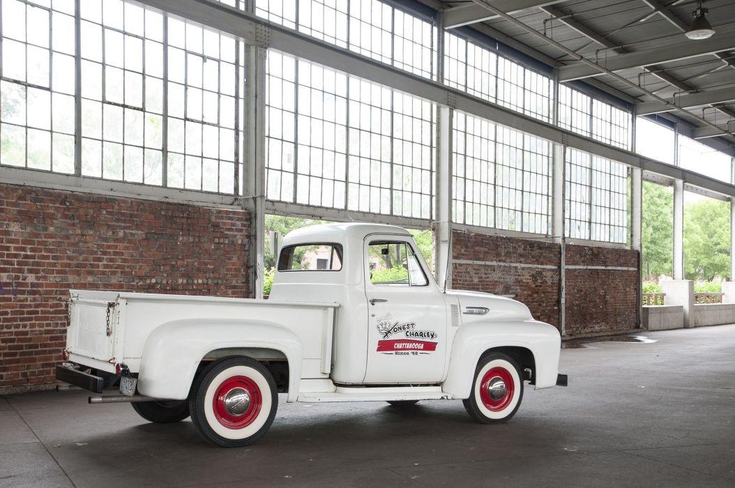 1953 Ford F100 Pickup Classic USA 2048x1360-02 wallpaper