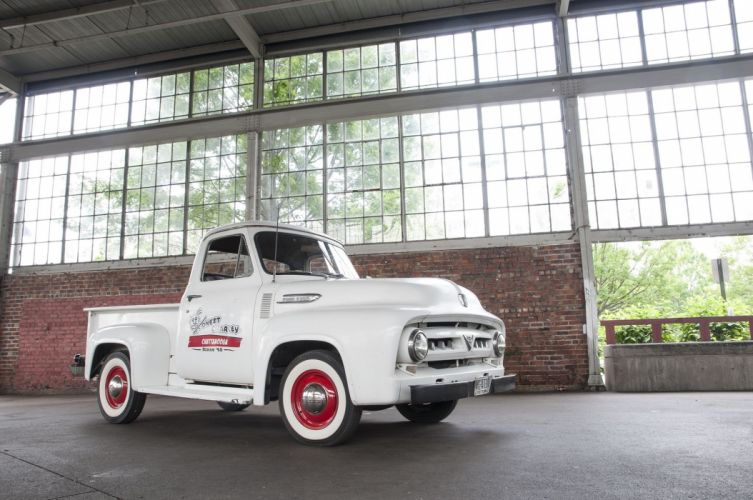 1953 Ford F100 Pickup Classic USA 2048x1360-01 wallpaper