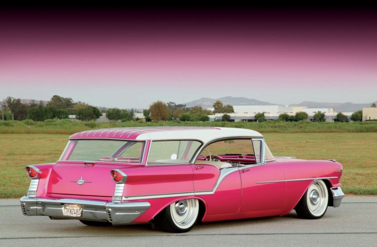 1957 Oldsmobile Fiesta State Wagon Custom Low Streetrod Street Rod Hot USA 1500x981-02 wallpaper