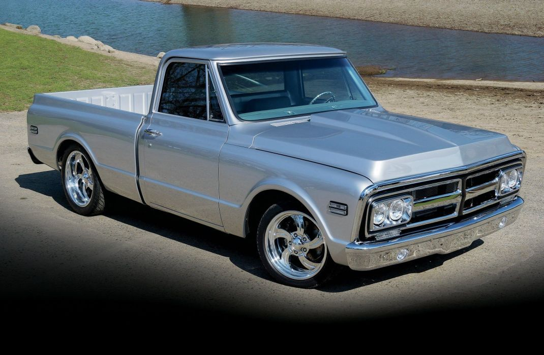 1970 GMC Pickup Hotrod Hot Rod Streetrod Street Custom USA 2048x1340-01 wallpaper