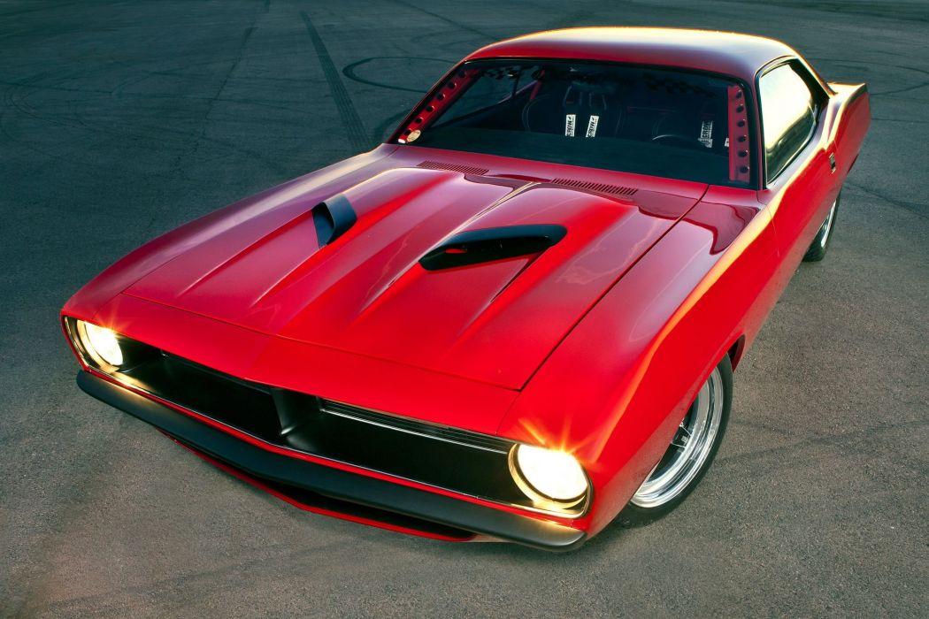1970 Plymouth Barracuda Muscle Streetrod Streetmachine Street Rod Hot Machine Hitec USA 2040x1360-04 wallpaper