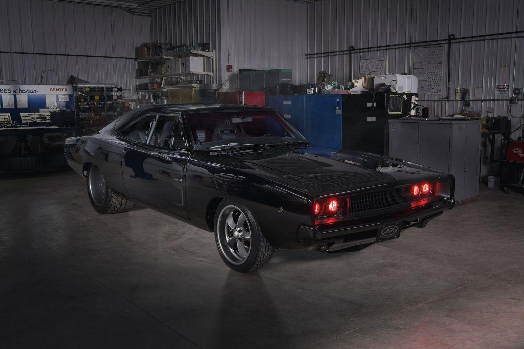 1968 Dodge Charger RT Muscle Streetrod Streetmachine Street Rod Hot Machine Hitec USA 6000x4000-01 wallpaper
