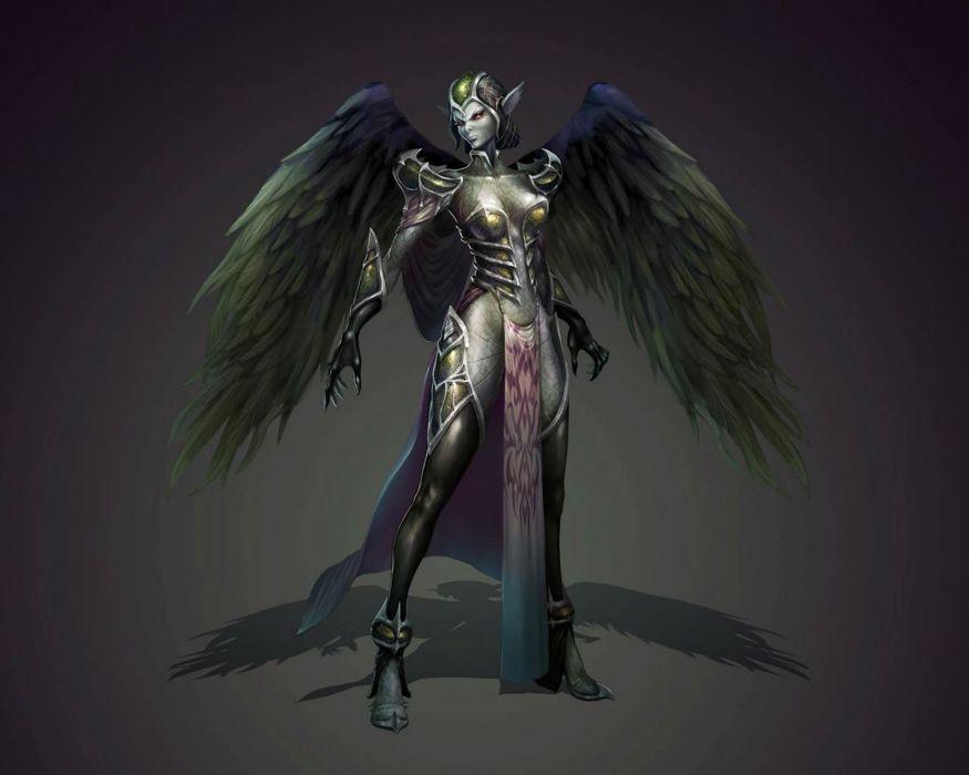MAESTIA ONLINE fantasy mmo rpg adventure action strategy fighting gods Rise Keledus 1maestia elf elves poster angel demon wallpaper