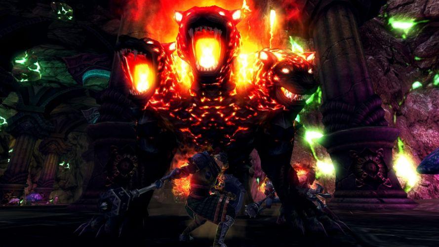 RAIDERZ monster hunting fantasy mmo rpg online action fighting 1raiderz adventure wallpaper