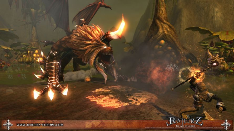 RAIDERZ monster hunting fantasy mmo rpg online action fighting 1raiderz adventure poster wallpaper