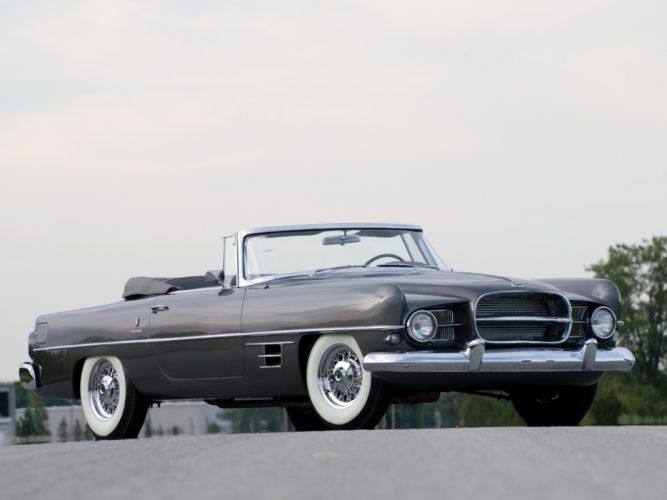 Dual-Ghia Convertible cars classic retro wallpaper