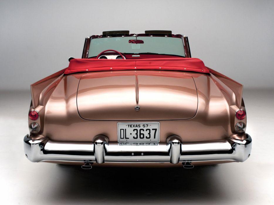Dual-Ghia Convertible cars classic retro wallpaper