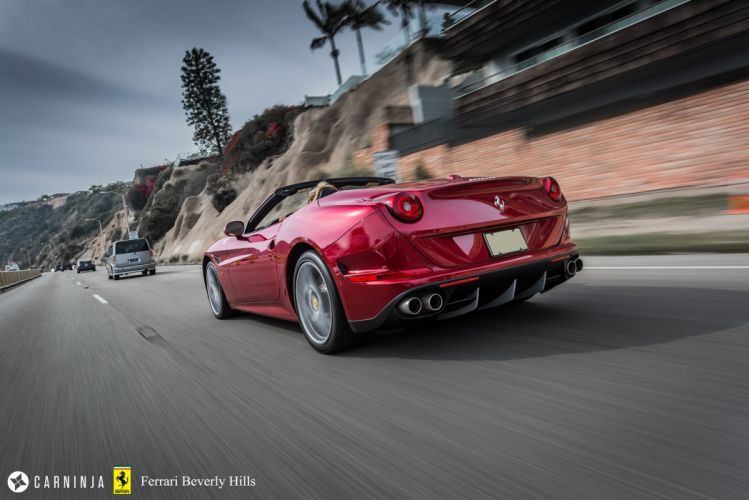 Ferrari California T convertible supercars cars wallpaper